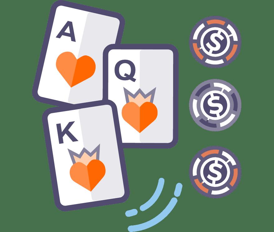 Los 53 mejores sitios de Casino de Póker de tres cartas en línea en Columbia